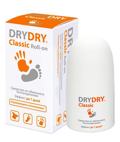 антиперспирант drydry